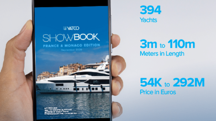 YATCO showbook 2020 France and Monaco yachts for sale