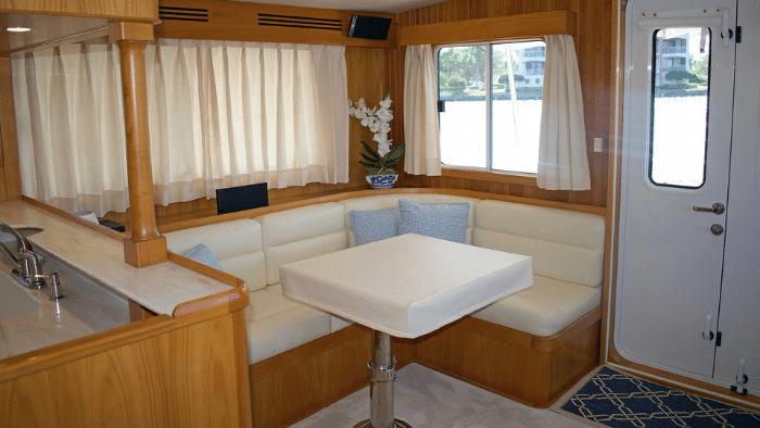 """Saloon Kadey-Krogen 44AE Trawler """"Sweet Ride"""" - Boat Review"""