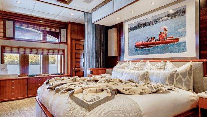 interior OCEAN CLUB 164' Trinity First Time For Sale