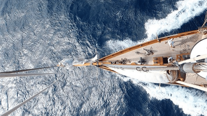 """1904 Camper and Nicholson Classic Sailing Yacht """"Merrymaid"""" - Legends of the Seas"""