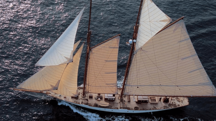 "1905 George S Lawley & Sons Classic Sailing Yacht ""Invader"" - Legends of the Seas"