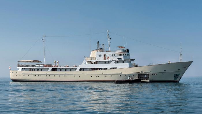 "1962 Georgi Dimitrov Luxury Motor Yacht ""La Sultana"" – Legends of the Seas"