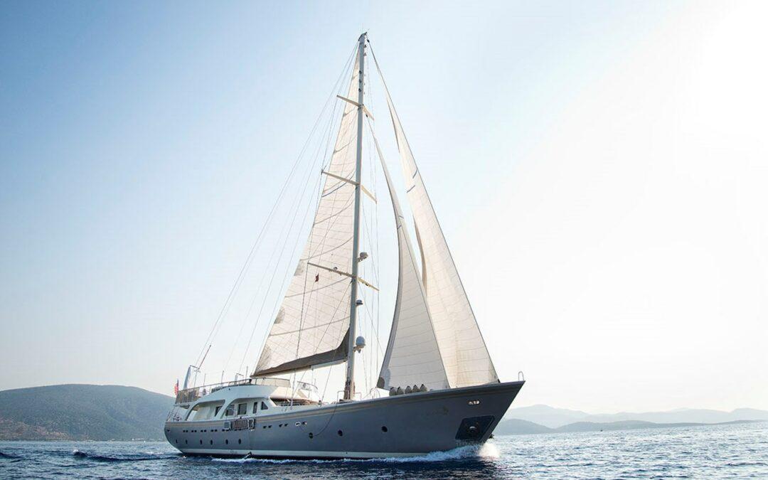 """2009 Cavusoglu Custom Motor Sailing Yacht """"Mermaid"""" – Boat Review"""