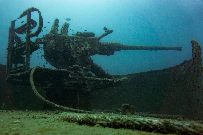 Five Shipwrecks of the Wars