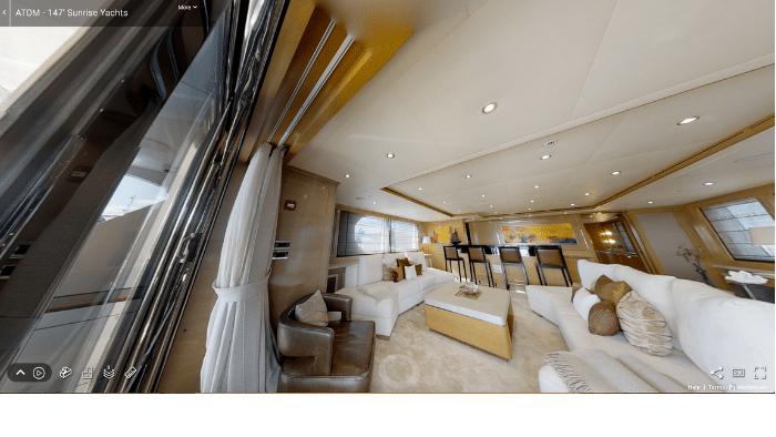 Virtual Yacht Tour: 2014 Sunrise Tri Deck Motor Yacht - Boat Review