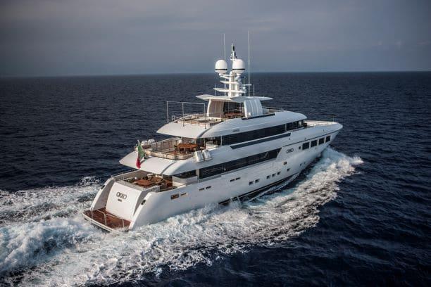 2012 Mondomarine Motor Yacht OKKO running yacht