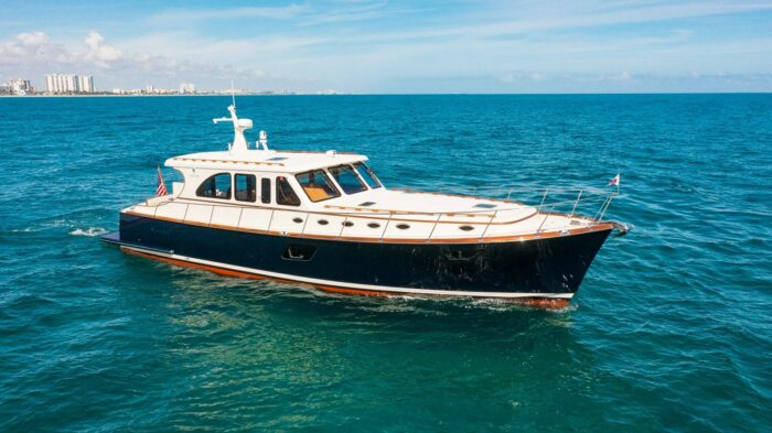 downeast-styled motor yacht, boat types