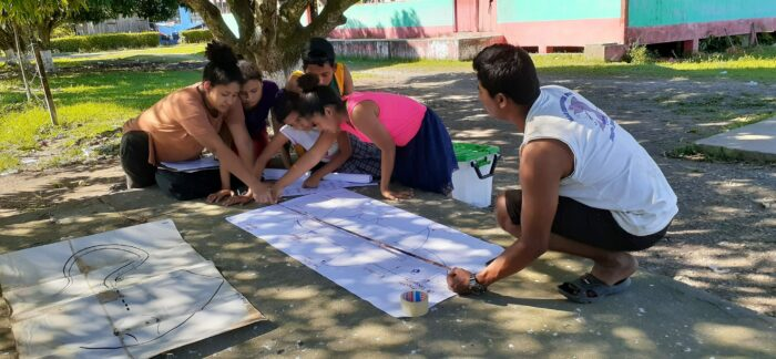 Saving the Sharks of Guatemala - FUNMZ members