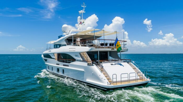2019 95' BENETTI Delfino Motor Yacht EURUS