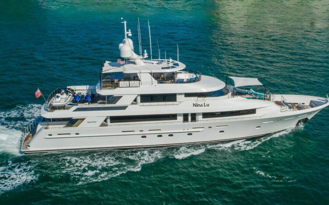 Westport Yachts Nina Lu for Sale, semi-custom yachts vs fully customized
