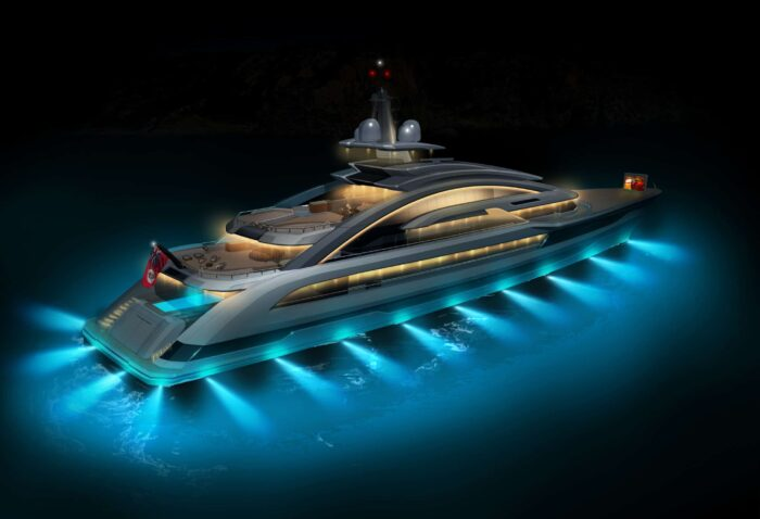 When asked about its most unique build, Sara Gianola of Heesen Yachts replied with a new Cosmos superyacht project currently under construction.