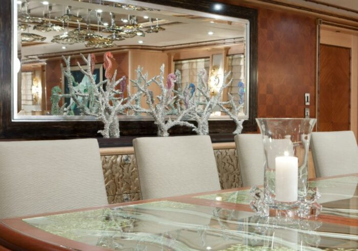 Patrick Knowles,THE ISA 63m Yacht Interior