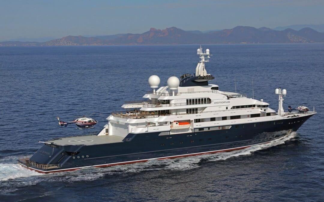 Lurssen Motor Yacht OCTOPUS Sold
