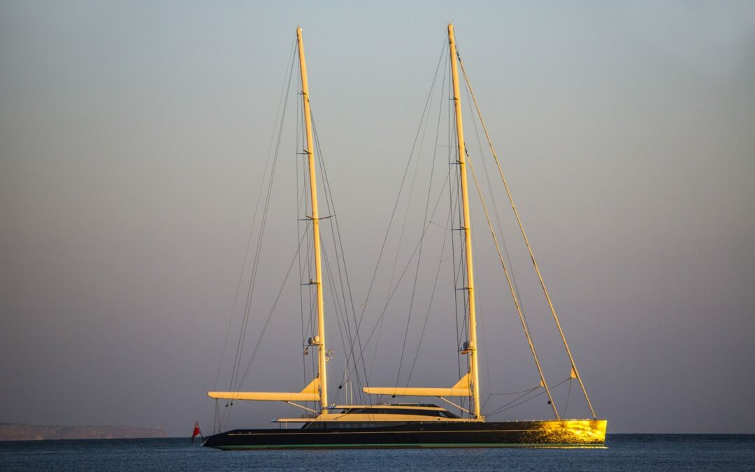 86m Sailing Yacht AQUIJO Enters the Yachts for Sale Market