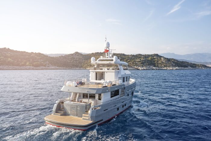 Bering Yachts Delivers Pocket Explorer B77 VERONIKA
