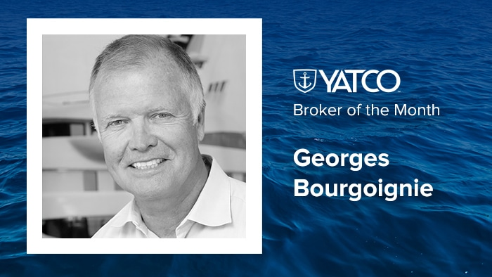 Broker of the Month: Georges Bourgoignie of Fraser Yachts