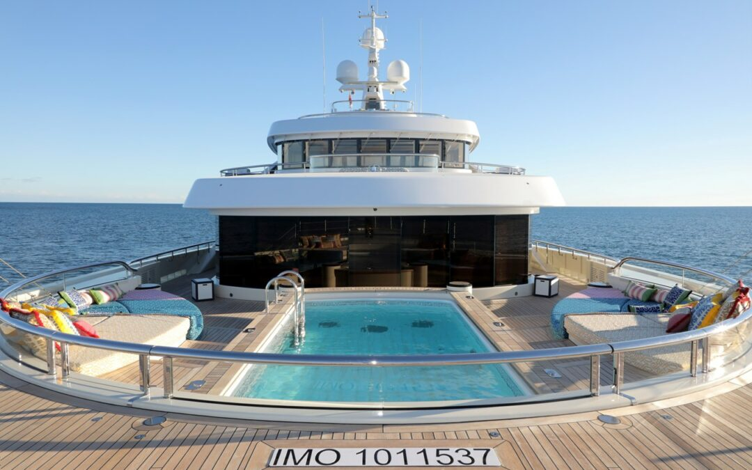 Superyachts and Super-Pools, ACE pool, Lurssen Yachts