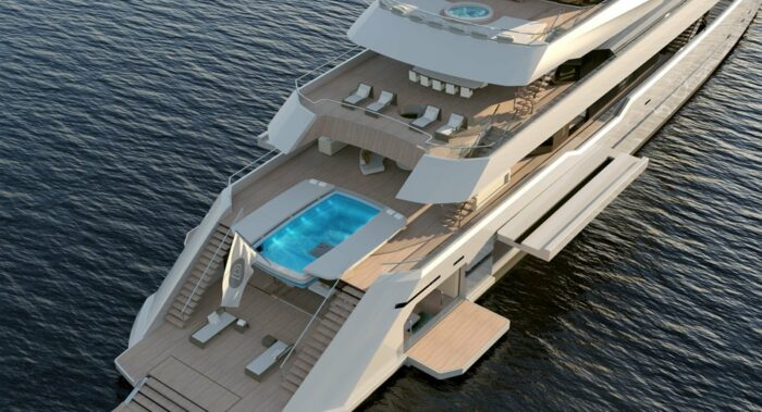 Superyachts and Super-Pools, PROJECT STARLIGHT – Darnet Design