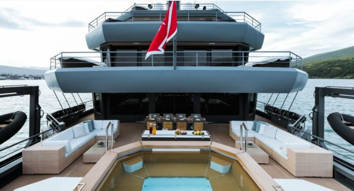 Superyachts and Super-Pools, RAGNAR pool, Icon Yachts