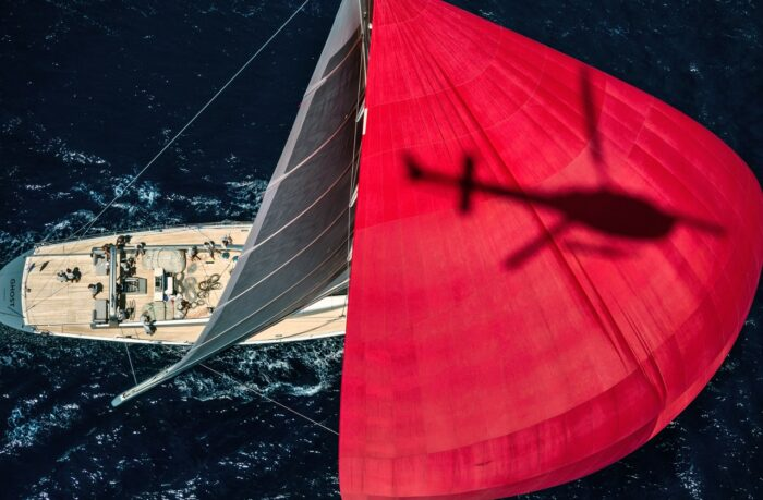 The Top Superyacht Photographers Part 2 - Jeff Brown, heli