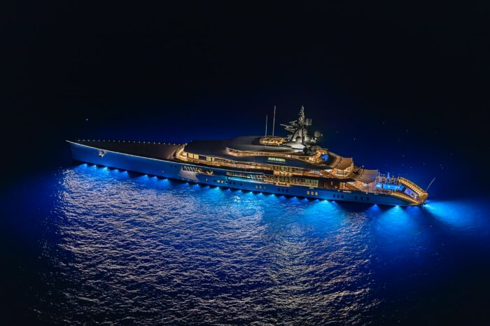 The World's Most Unique Yacht Builds Part 7 - Oceanco Yachts, Oceanco Bravo Eugenia