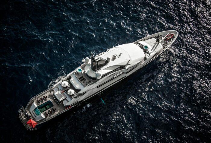 The World's Most Unique Yacht Builds Part 7 - Oceanco Yachts - Alfa Nero