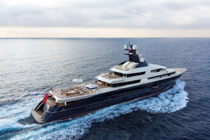 "2014 300' 3"" Oceanco Superyacht TRANQUILITY"