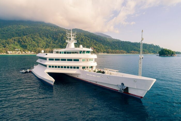 Asean Lady, Superyacht Bows – Where Function Follows Form