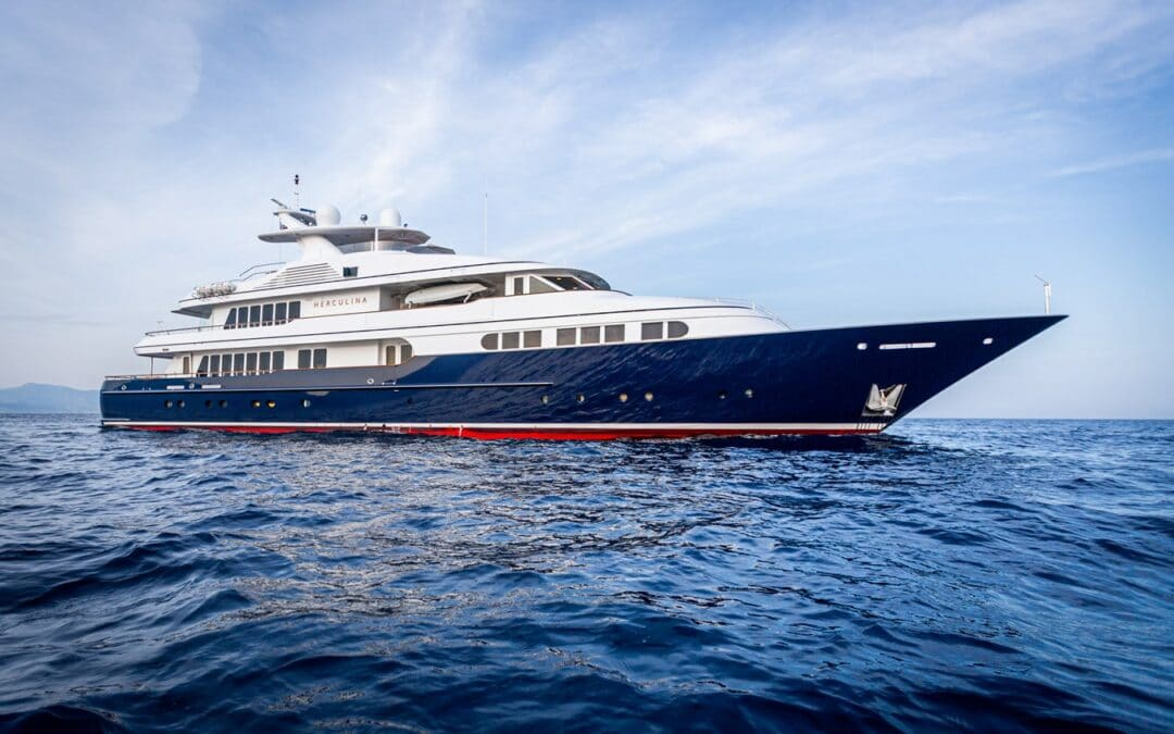 Superyacht Bows – Where Function Follows Form, Herculina