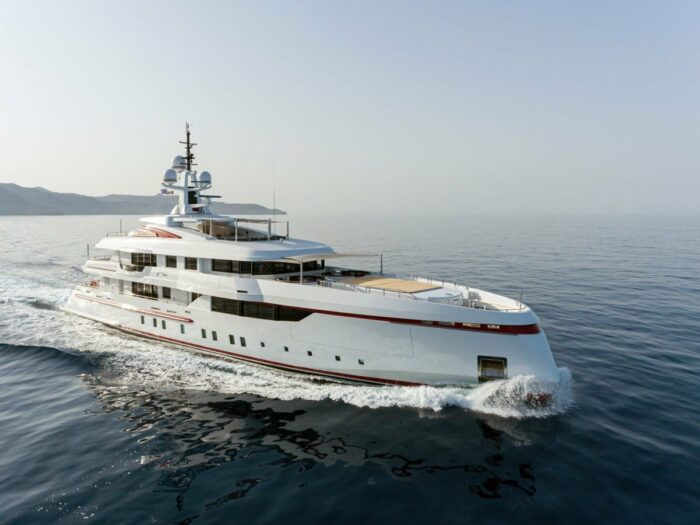 Superyacht Forever One, The Top Five Yachts Located in Greece