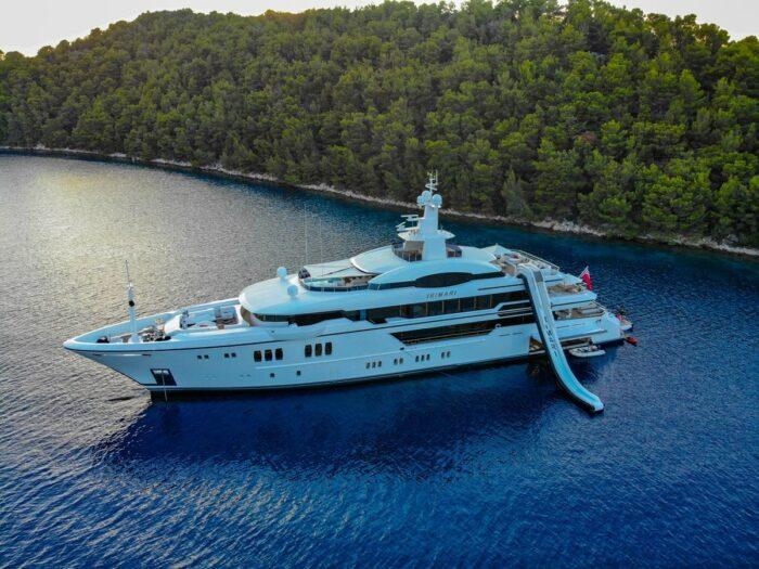 Superyacht Irimari, The Top Five Yachts Located in Greece
