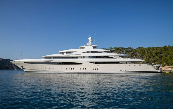 Superyacht O'Ptasia, The Top Five Yachts Located in Greece