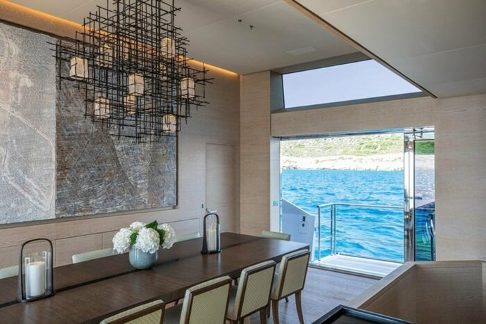 Superyacht Sanam, The Top Five Yachts Located in Greece