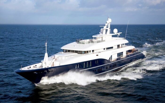 Superyacht Sapphire, The Top Five Yachts Located in Greece