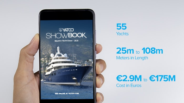 YATCO Launches Monaco Yacht Show SHOWBOOK With Over €1 Billion Worth of Yachts