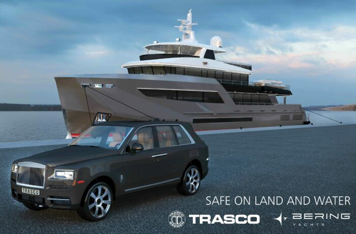 Bering Yachts and Trasco Bremen Collaborate For The Ultimate in Safety Underway