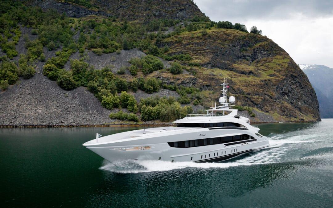 Heesen Yachts Project OSLO24 Begins Construction