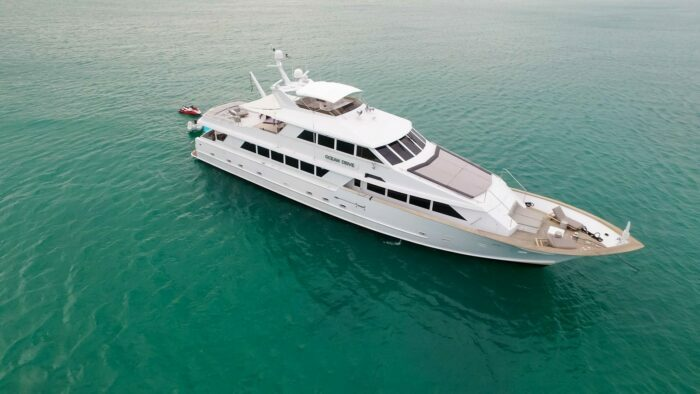 122 ft Yacht OCEAN DRIVE, Built by Broward Yachts, and Located in Miami, Florida