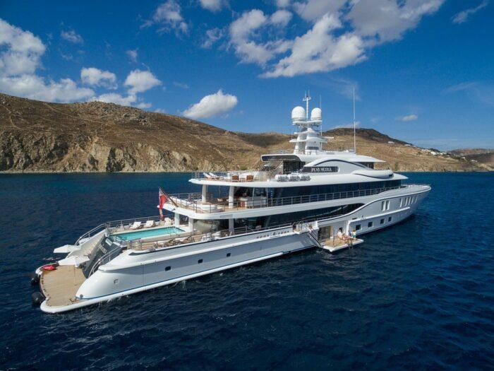 2016 Amels Yacht PLVS VLTRA