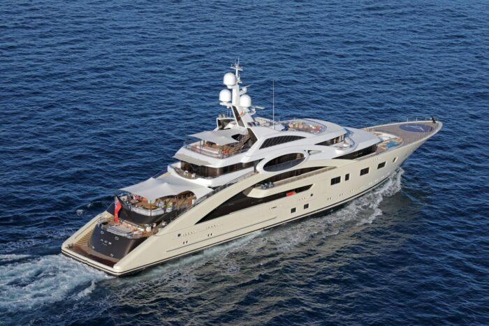 2012 Superyacht ACE, Top Five Yachts Located in Spain