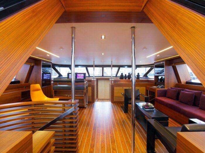 "129' 4"" Sailing Yacht STATE OF GRACE, Top Three Classic Perini Navi Sailing Yachts"