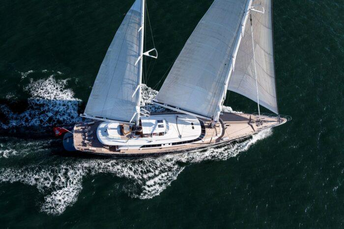 "183'9"" Cruising Ketch ZENJI, Top Three Classic Perini Navi Sailing Yachts"