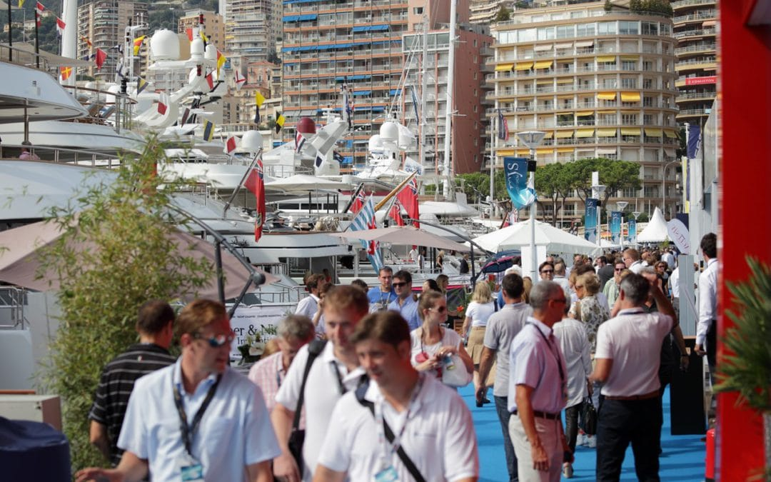 visitors at a local boat show, why visit a boat show