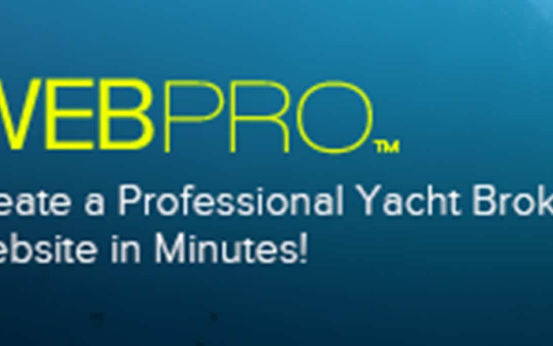 YATCO WEB PRO™ To Revolutionize The Yacht Sales Industry